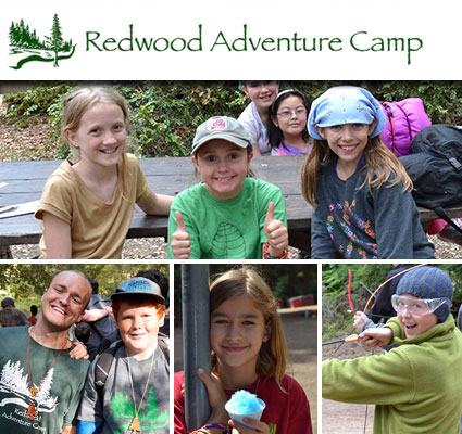 Redwood Adventure Camp's Mission