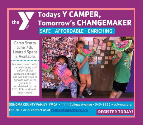Sonoma County Family YMCA camps